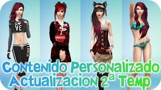 getlinkyoutube.com-Contenido personalizado de 2ª Temporada Actualizado - Sims 4 - Reah Mods