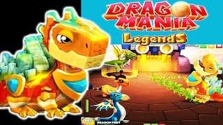 getlinkyoutube.com-Dragon Mania Legends (Gameloft) - Defeating La Fontaine Dragon at Steam City (Quest 20)