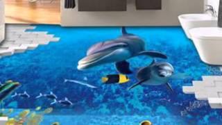 getlinkyoutube.com-Curso de Porcelanato Líquido 3D e Papel de Parede líquido - Tok Final Tok Líquido