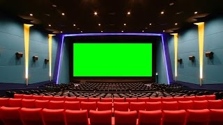 Green Screen Cinema Hall Movie House - Footage PixelBoom