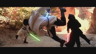 getlinkyoutube.com-Star Wars Parkour Battle - The Flow Awakens