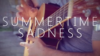 getlinkyoutube.com-Summertime Sadness - Lana Del Rey (fingerstyle guitar cover by Peter Gergely)