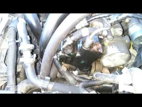 ТНВД - замена уплотнительных колец и клапана.
