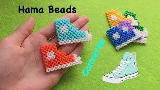 getlinkyoutube.com-DIY hama beads shoes tutorial