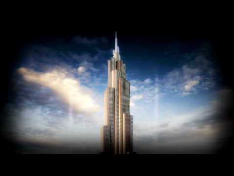 Dubai Burj Khalifa At The Top Elevator Ride (Music by Paul Baraka)