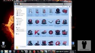 getlinkyoutube.com-Rocketdock + StackDocklet + pack de iconos 2013