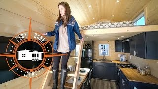 Gorgeous Double Loft Tiny House ~ Full Tour ~ Uncharted Tiny Homes