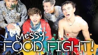 getlinkyoutube.com-4 Guys Get Messy | Jc, Kian, Nash & Cameron