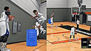 getlinkyoutube.com-NBA 2K16 MyCAREER - Live Practice #4 Cam Gets HOT From The 3pt Line ! | How To Increase Your Hops