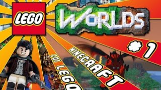 getlinkyoutube.com-MINECRAFT CON I LEGO! - Lego Worlds ITA #1