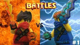getlinkyoutube.com-Lego Ninjago: Kai vs Jay (Tournament)