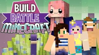 getlinkyoutube.com-Princess Peacock | Build Battle | Minecraft Building Minigame