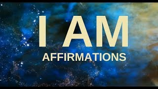 I AM Morning Affirmations: Gratitude, Self Love,  Positive Energy, Freedom & Happiness width=
