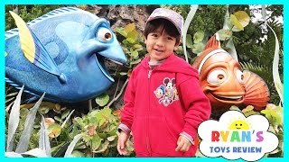 getlinkyoutube.com-Amusement Park for Kids Rides! Frozen Ever After Ride at Epcot! Meeting Disney Elsa and Anna IRL