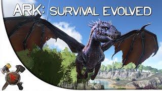 getlinkyoutube.com-WILD DRAGONS, CAMERAS AND TRADING! - TAMED DRAGON (Ark Mod Spotlight)