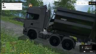 getlinkyoutube.com-Farming Simulator 2015 Scania R730 Topline Truck Mod