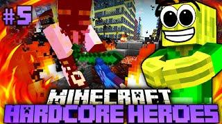 getlinkyoutube.com-Der FEURIGE ENDKAMPF!! - Minecraft Hardcore Heroes 2 - #05 [Deutsch/HD]