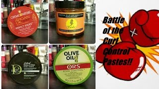 getlinkyoutube.com-BATTLE of the Edge Control Pastes (Type 4 Hair)
