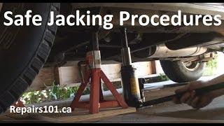getlinkyoutube.com-Auto: Safe Jacking Procedures