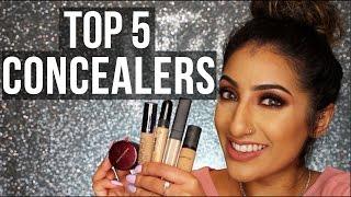 getlinkyoutube.com-Top 5 Concealers - Indian/Asian/Olive/Warm Skin Tone