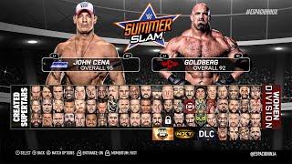 getlinkyoutube.com-WWE 2K17 ROSTER! POST-DRAFT, WOMEN, NXT & LEGENDS (PS4/XB1 Concept!)