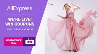 AliExpress LIVE - Finove EN PLAYBACK