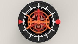 getlinkyoutube.com-3D-printed Watch with Tourbillon - How it's made