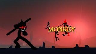 getlinkyoutube.com-League of Stickman—Monkey