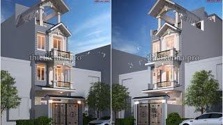 getlinkyoutube.com-Mẫu Thiết Kế Nhà Đẹp 2 Tầng 3D Full HD - KAV