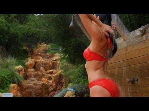 Sauna, Peninsula Hot Springs, Mornington Peninsula, Australia
