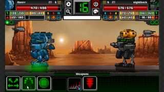 getlinkyoutube.com-SuperMechs Battle Lost While Playing PC Version