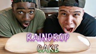 getlinkyoutube.com-DIY EDIBLE RAINDROP CAKE TASTE TEST!!