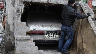 За стеной: необычная находка Toyota Mark II 1984-го года выпуска Barn Find Low Milleage