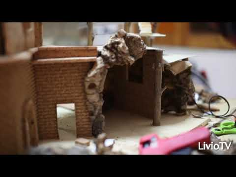 Come costruire un presepe in legno fai da te mania - Modele de creche de noel en bois ...