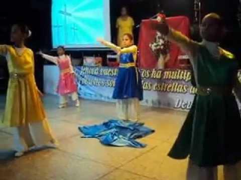 Danzas Cristianas Jeshua. DIGNO Y SANTO Cabimas Venezuela