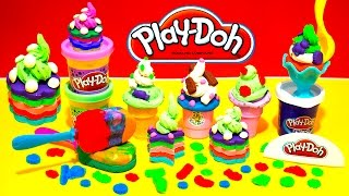 getlinkyoutube.com-Play Doh Sweet Shoppe Ice Cream Cupcakes Cake Playset Dessert Playdough