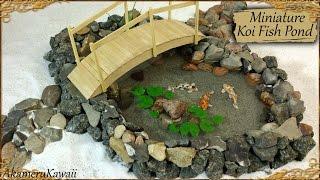 getlinkyoutube.com-Miniature Koi Fish Pond - Polymer Clay/Resin Tutorial