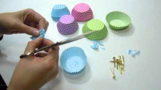 getlinkyoutube.com-Flores de cupcake