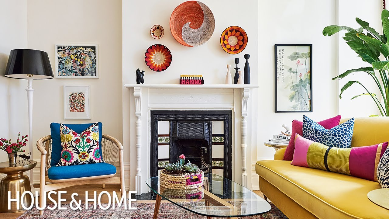This Colorful Quirky Home is a must See!