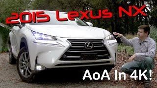 getlinkyoutube.com-2015 Lexus NX 200t / NX 300h Detailed Review and Road Test - In 4K!