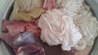getlinkyoutube.com-كيفية غسل وتنظيف الدوارة أوالكرشة لأضحية العيد مع الشرح الكامل /chhiwat om akram _EP 246