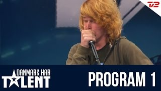 getlinkyoutube.com-Beatboxeren Thor Mikkelsen - Danmark har talent - Program 1
