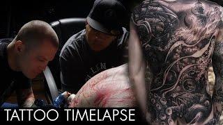 getlinkyoutube.com-Tattoo Timelapse - JP Alfonso and Luke Palan