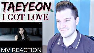 "getlinkyoutube.com-Taeyeon 태연 ""I Got Love"" MV Reaction | Awkward Luc"