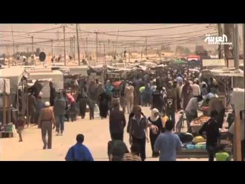 مخيم الزعتري ثاني أكبر مخيمات اللاجئين في العالم
