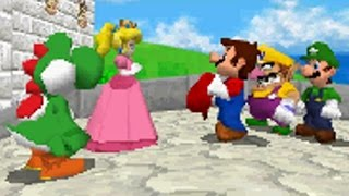 Super Mario 64 DS Walkthrough - Finale - Bowser in the Sky