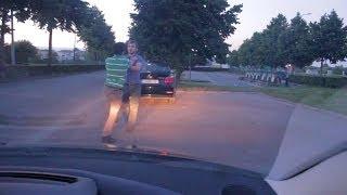 getlinkyoutube.com-Verkeersagressie in Oudenaarde, Traffic Aggression in Belgium