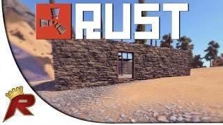 "getlinkyoutube.com-Rust Gameplay - Part 1: ""Stealing a Base!"" (Multiplayer)"