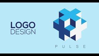 getlinkyoutube.com-Professional Logo Design - Adobe Illustrator cc (PULSE)