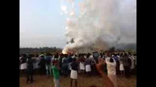 getlinkyoutube.com-Kuttiyankavu Pooram Fireworks 2014 - Minalur